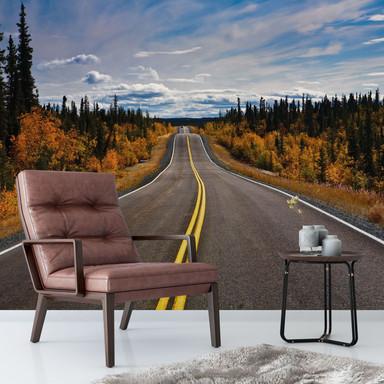 Fototapete Road Trip - 288x260cm - Bild 1