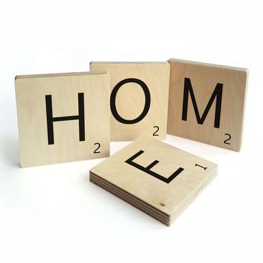 Holzbuchstaben Buchstabensteine Home