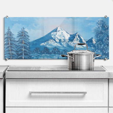 Küchenrückwand Toetzke - Alpsee in den Bergen - Panorama