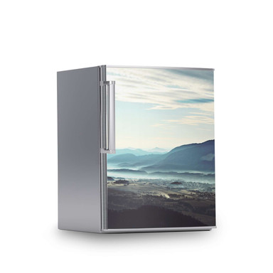 Kühlschrankfolie 60x80cm - Fog Village- Bild 1