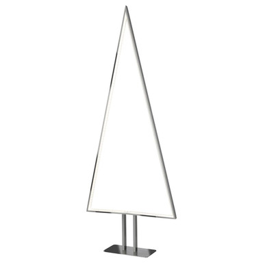 LED Dekoleuchte Pine in Silber 6W 540lm