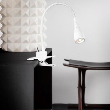 LED Klemmleuchte Mento weiss 2.5W