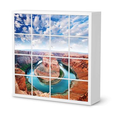 Möbelfolie IKEA Kallax Regal 16 Türen - Grand Canyon