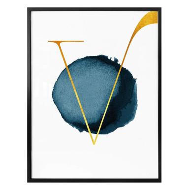 Poster - Das goldene V