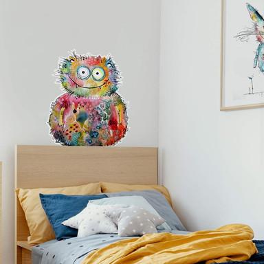 Wandtattoo - Hagenmeyer - Happy Monster