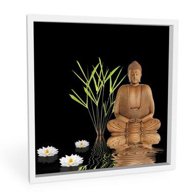 Hartschaumbild Zen Buddha