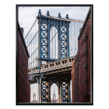 Poster Colombo - Brooklyn Bridge