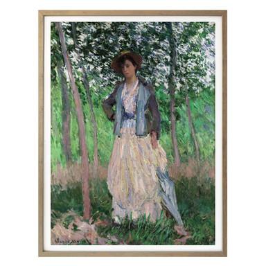 Poster Monet - The Stroller