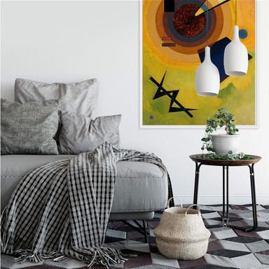 Wallprint Kandinsky - Grün und Rot