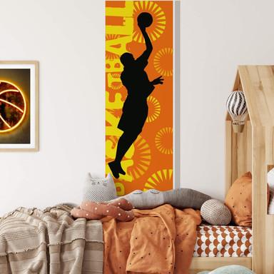 Wandsticker Basketball Banner