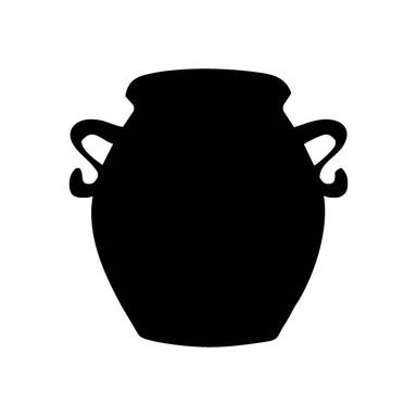 Wandtattoo Vase 5