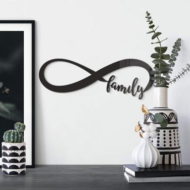 Acrylbuchstaben - Unendlich Family