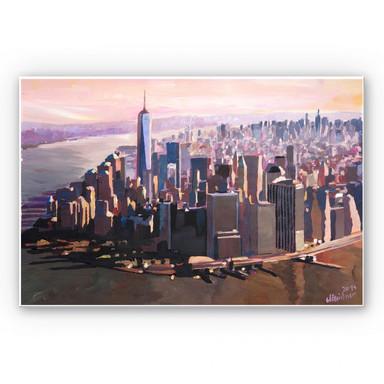 Hartschaumbild Bleichner - Manhattan Freedom