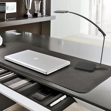 LED smarte Schreibtischleuchte Timelight 9W 600lm dimmbar in Schwarz