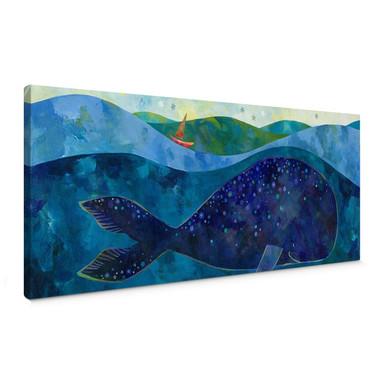 Leinwandbild Blanz - Der Walfisch