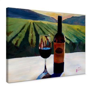 Leinwandbild Bleichner - Wein in Napa Valley