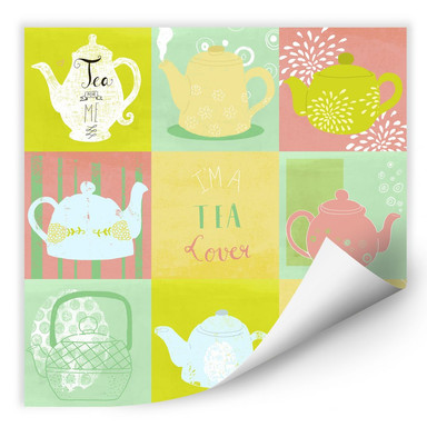 Wallprint Loske - Tea Time