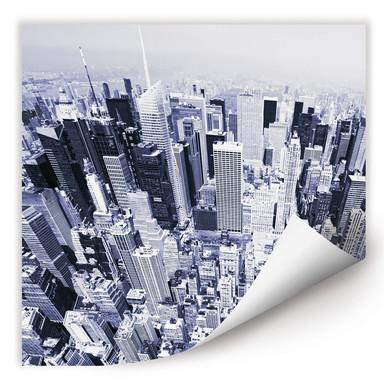 Wallprint Manhattan Luftbild