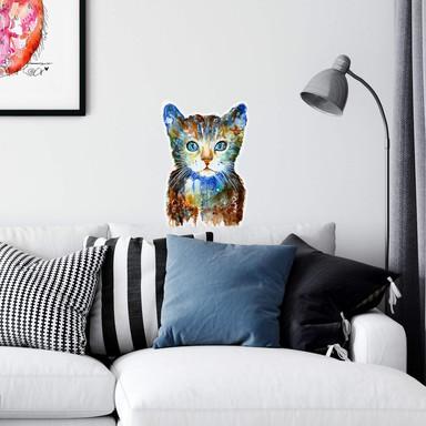 Wandtattoo Hagenmeyer - Kleine Katze