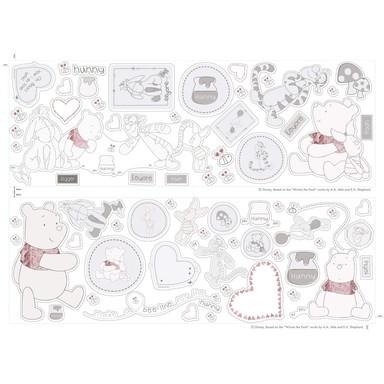 Wandtattoo-Set Mickey und Minnie - Baby - Bild 1