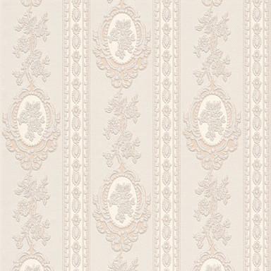 A.S. Création Strukturprofiltapete Belle Epoque beige, creme, metallic