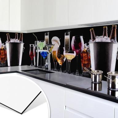 Küchenrückwand - Alu-Dibond - Cocktail Feeling