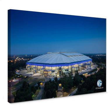 Leinwandbild Schalke Arena 02