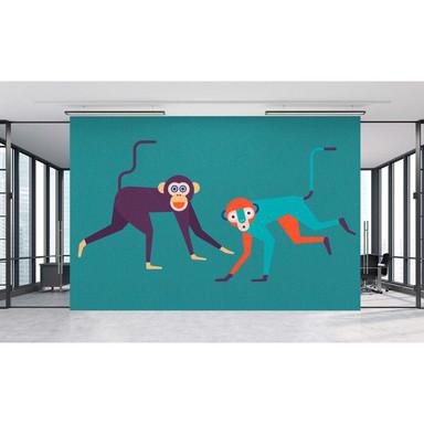 Livingwalls Fototapete Walls by Patel 2 monkey business 1 - Bild 1