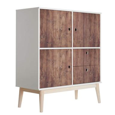 Möbelfolie, Dekofolie - abwischbar - Holz 09 - Bild 1