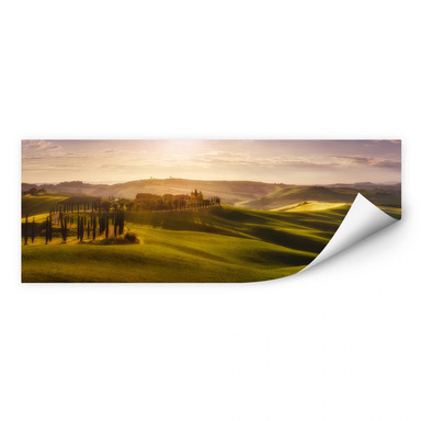 Wallprint de la Torre - Toskana - Panorama