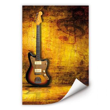 Wallprint Electric Guitar