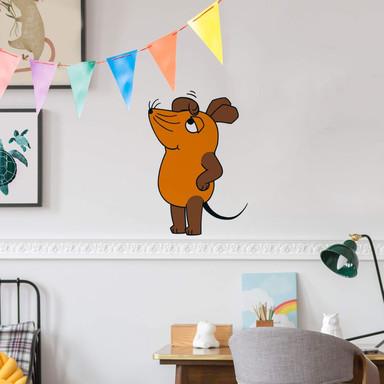 Wandsticker Die Maus guckt