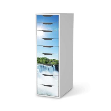 Folie IKEA Alex 9 Schubladen - Niagara Falls