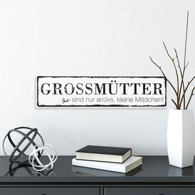 Hartschaum-Dekoschild Grossmütter...