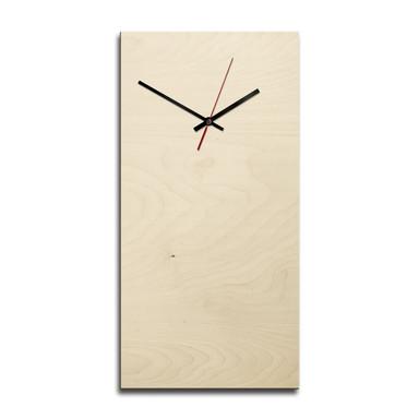 Holz-Wanduhr - Blanko - rechteckig