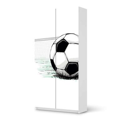 Klebefolie IKEA Pax Schrank 201cm Höhe - 2 Türen - Freistoss