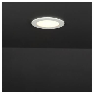 LED Panel Kallisi aus Metall 6W 3000K 420lm 115mm