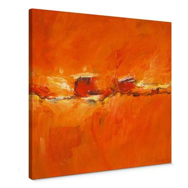 Leinwandbild Schüssler - Composition in Orange