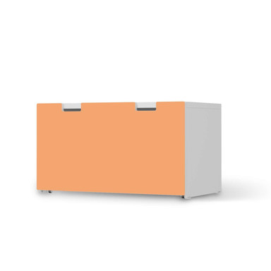 Möbelfolie IKEA Stuva / Malad Banktruhe - Orange Light