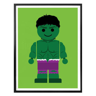 Poster Gomes - The Hulk Spielzeug