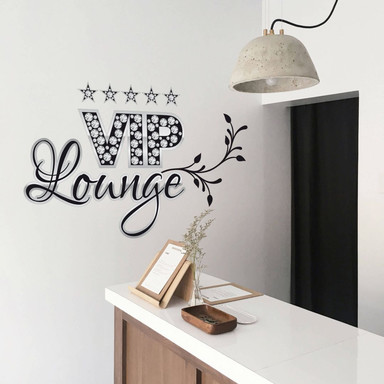 Wandsticker VIP Lounge