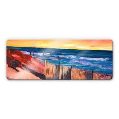 Glasbild Bleichner - Die Hamptons - Panorama