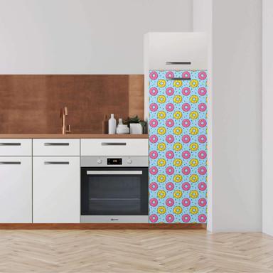 Klebefolie - Hochschrank (60x160cm) - Donutparty- Bild 1