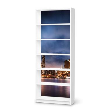 Klebefolie IKEA Billy Regal 6 Fächer - Brooklyn Bridge- Bild 1