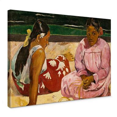 Leinwandbild Gauguin - Frauen von Tahiti