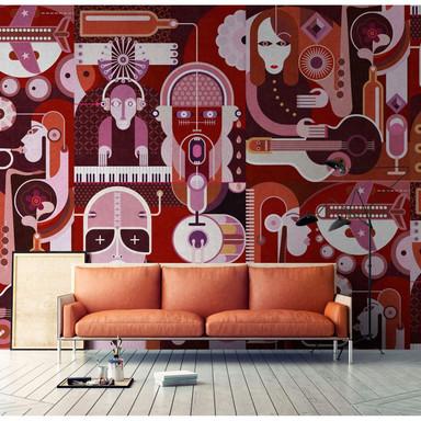 Livingwalls Fototapete Walls by Patel 2 wall of sound2 - Bild 1