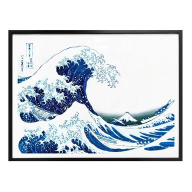 Poster Hokusai - Die grosse Welle