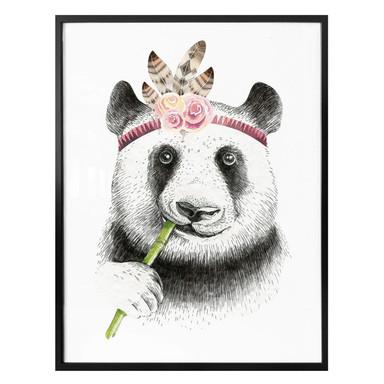 Poster Kvilis - Girlie Panda