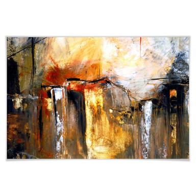 Poster Niksic - Licht und Landschaft
