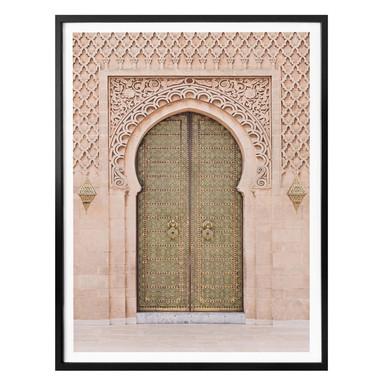 Poster Sisi & Seb - Moroccan Door